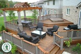 Deck Plans With Pergola by This Is A Very Unique Deck Built By Our Franchise In Kitchener