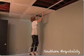 Spray Paint Ceiling Tiles by Drop Ceiling Tiles