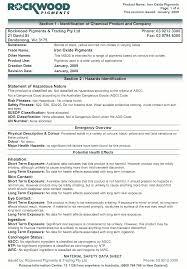 Ghs Safety Data Sheet Template Services Kilford Kilford