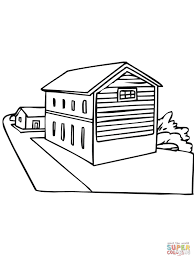 norway typical house coloring page free printable coloring pages