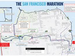 Bart Schedule And Map by San Francisco Marathon Street Closures And Muni Disruptions