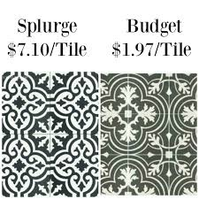 design tips chic tile the house of silver lining