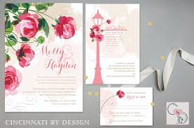 garden wedding invitations garden wedding invitations cincinnati by design