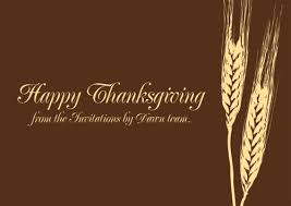 happy thanksgiving from all of us at