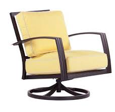 charming swivel outdoor chairs with gensun phoenix outdoor sling
