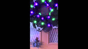 happy halloween spider deco mesh wreath youtube