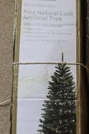 tree 6ft pine look artificial tree in stoke