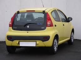 peugeot yellow peugeot 107 1 0 autobazar aaa auto