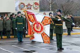 Military Flag Order Russian Defence Minister General Of The Army Sergei Shoigu Awarded