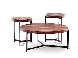 round walnut side table round walnut side table plateau coffee side table walnut coffee