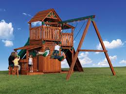 backyard adventures titan treehouse 3 outdoor playsets