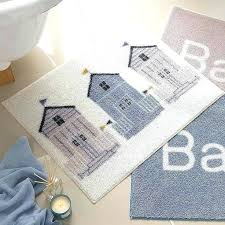 Nautical Bathroom Rugs Themed Bathroom Rugs Bath Rugs Ideas To Try About