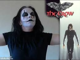 the crow make up tutorial