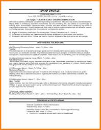 5 teacher resumes examples biology resume