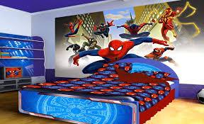Spiderman Wallpaper For Bedroom Spiderman Bedroom Furniture Interior Design