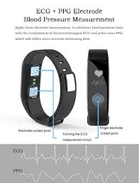 heart healthy bracelet images Fitness tracker smart ecg heart rate blood pressure monitor ip66 jpg