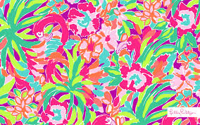 lilly pulitzer patterns elephant wallpaper