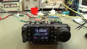 72 ham radio repair icom ic 7000 with receiver problems and
