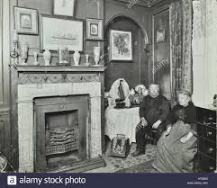 Victorian Interior by Elderly Couple In Victorian Interior Albury Street Deptford