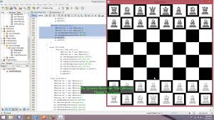 Chess Board Design Gui Chess Board Design In Java Netbeans Part 2 Youtube