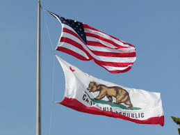 California State Flag Us National Flag And California State Flag City Hall San U2026 Flickr