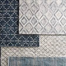 Organic Wool Rug Prism Wool Rug Slate West Elm