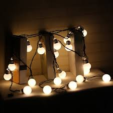 round bulb fairy lights online shop 6m 20leds hook round bulbs festoon party fairy string