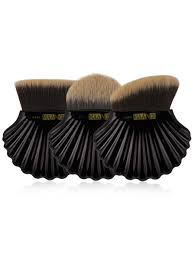 Professional Makeup Tools Professional Shell Shape Embellished Foundation Makeup Brush Set