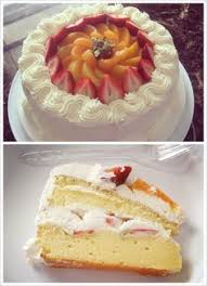 tres leches cake decorated with fruit pastel tres leches