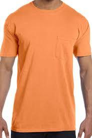 orange color shades shades of red orange comfort colors ring spun cotton pocket