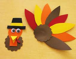 thanksgiving turkey craft template find craft ideas