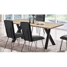 Dining Table Clearance Ash And Black Modern Dining Table Live Edge Collection Rc