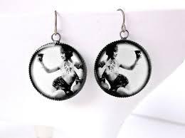 20 s earrings roaring 20s flapper earrings vintage pin up ziegfeld follies