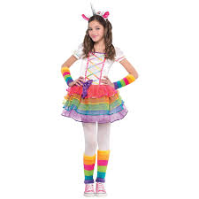 unicorn costume rainbow unicorn costume partyworld