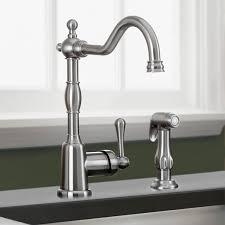 danze single handle kitchen faucet danze d401557ss opulence kitchen faucet