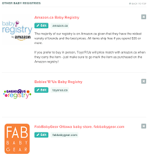 baby registrys using babylist for your baby registry lemon and mint
