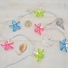 String Of Flower Lights by Multi Color Acrylic Flower Tropical String Lights