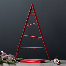 small silver a frame ornament tree crate and barrel