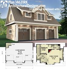 apartments 3 car garage plans with apartment best garage
