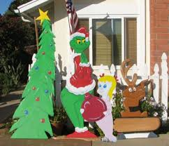 grinch lawn decoration outdoor christmas decorations grinch new year info 2018