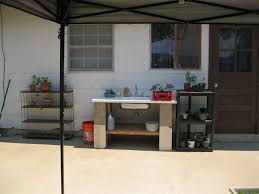 swanstone sinks copper kitchen sinks outdoor prep station with