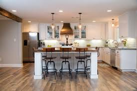 Kitchen Island Makeover Kitchen Makeover Ideas From Fixer Upper Joanna Gaines Hgtv And