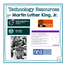 technology resources for martin luther king jr day 3rd grade