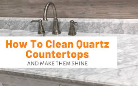 can you use to clean countertops how to clean quartz countertops and make them shine