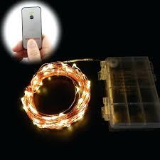 Led Wire String Lights by Led String Lights Battery Powered U2013 Amandaharper