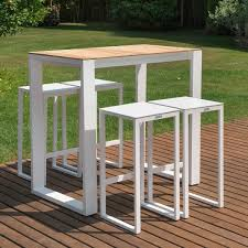 Outdoor Bar Table And Stools Bar Furniture Teak Outdoor Patio Furniture Terra Outdoor