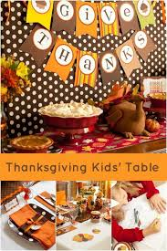 the thanksgiving kid s table decorations spaceships and