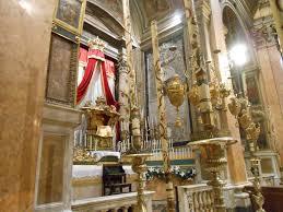 new liturgical movement roman sacrament altars holy thursday 2013