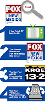 tv guide for antenna users fox new mexico krqe news 13