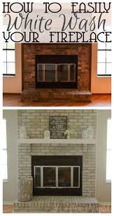 best 25 white wash fireplace ideas only on pinterest white it s a mom s world how to white wash your fireplace in 3 easy steps